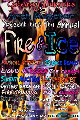 Fire and Ice Flier 2019
